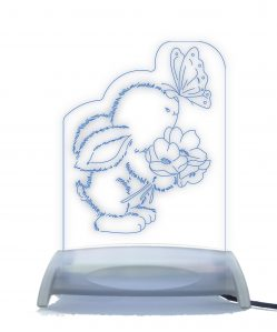Bunny and Butterfly Night Light