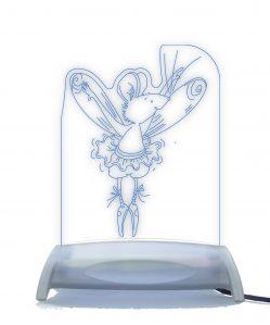 Ballerina Fairy Mouse Night Light