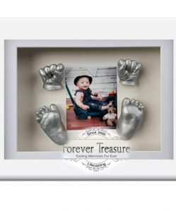 A4 Baby Frame & Cast Gift Set