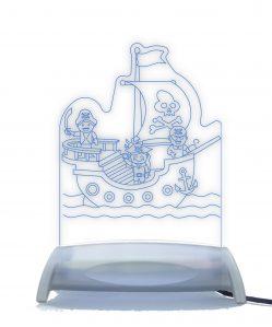 Pirate Ship Adventure Night Light