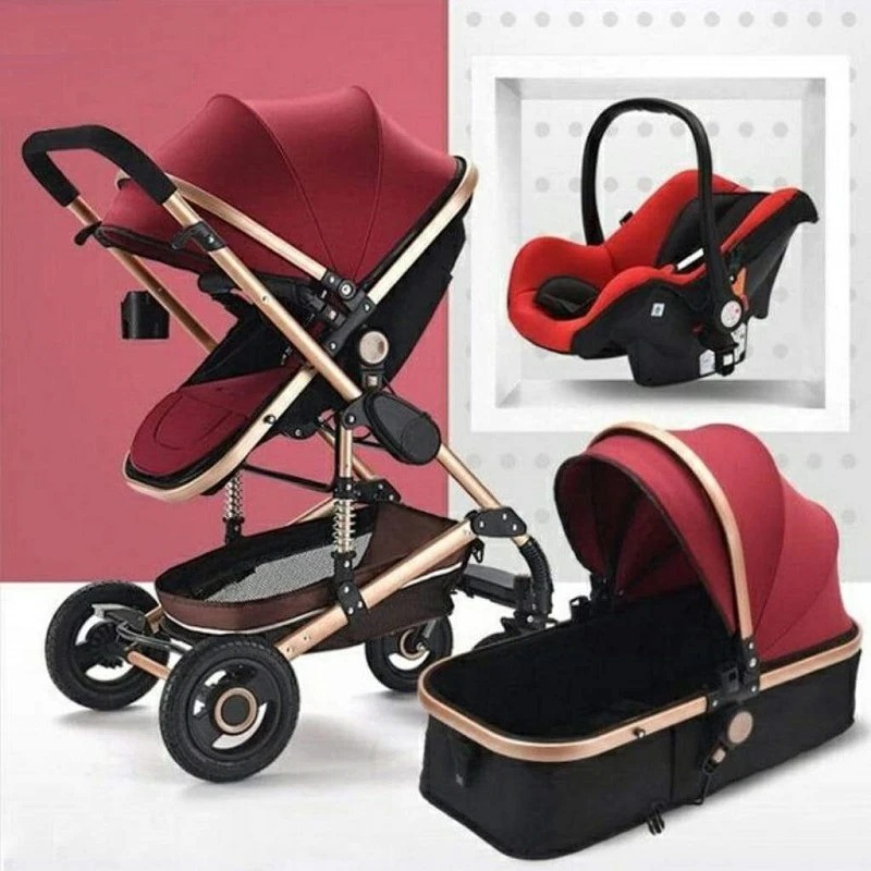 Belecoo Luxury Stroller - Tyrant • MomsBaby