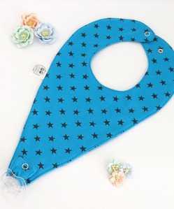Blue Star Dummy Bib