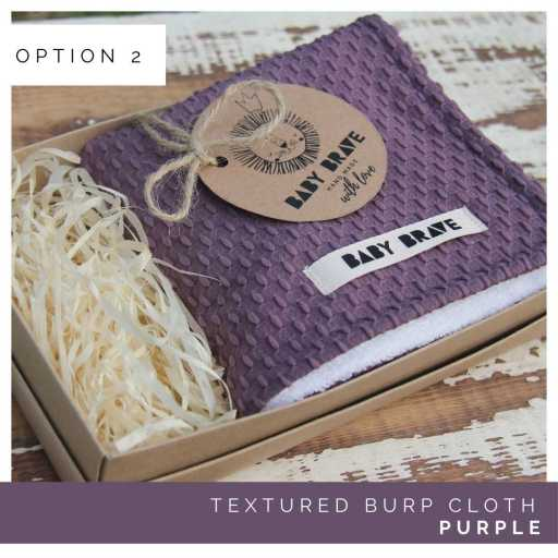 Purple Textured Deep Cloth