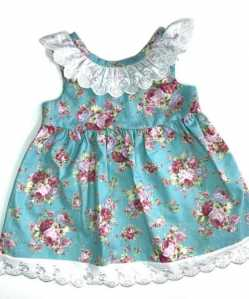 Summer Floral Infant dress