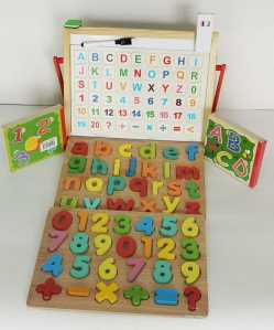 Alphabet and Number Recognition Set