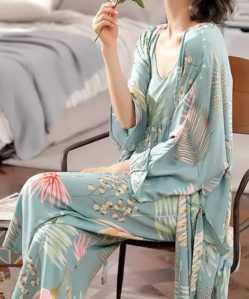 Cool Summer 3 piece Pajama Set