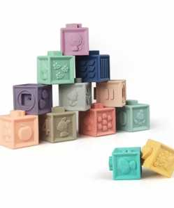 3D Silicone Stacking Blocks