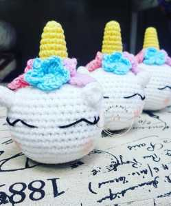 Crochet Unicorn Head Small