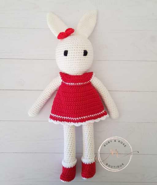Crochet Little Girl Bunny