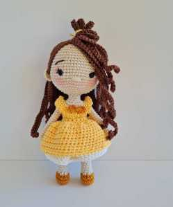 Crochet Belle Doll