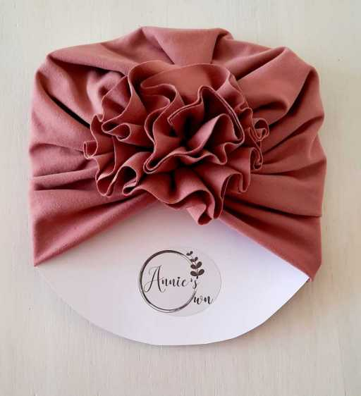 Blush Pink Turban Hat