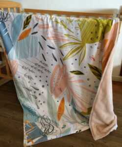 Abstract Floral Blanket